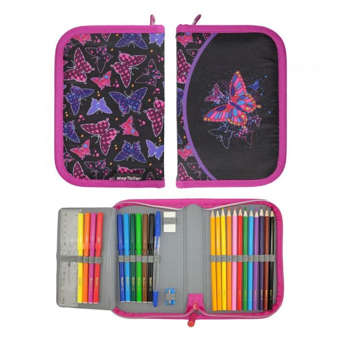 Magtaller Пенал с наполнением Rainbow Butterfly (27 предметов)