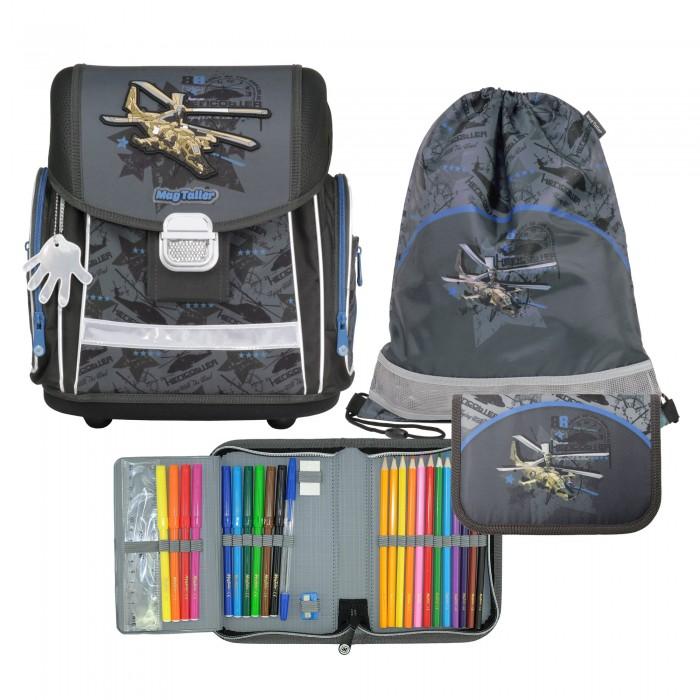 Школьные рюкзаки Magtaller Ранец школьный с наполнением Evo Helicopter панама bucket hat cotton l синяя