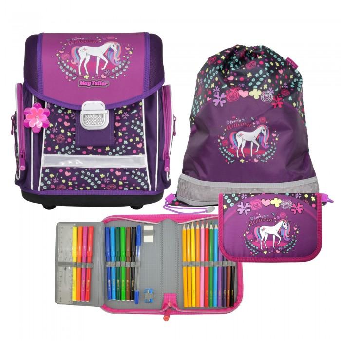 Школьные рюкзаки Magtaller Ранец школьный с наполнением Evo Lovely Unicorn недорого