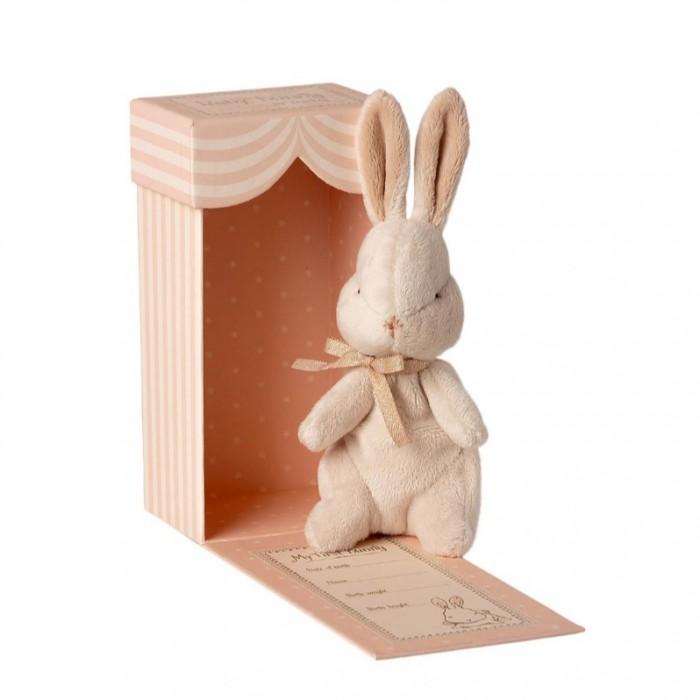 Мягкая игрушка Maileg Мой первый заяц в коробке