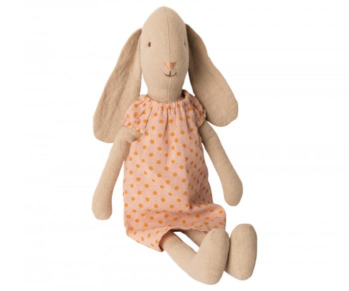 Мягкая игрушка Maileg Заяц размер 2 в ночной рубашке