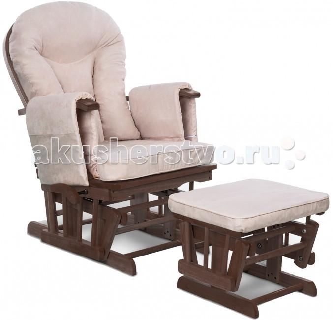 Кресло для мамы Makaby для кормлениядля кормленияПреимущества кресла для кормящей мамы Makaby: что же может быть лучше и таинственнее кормления малыша грудью? Лучше него может быть только удобное и комфортное кормление грудью! И в этом приятном и упоительном процессе Вам готово помочь кресло для кормления.   Для успешного и полноценного кормления женщине необходимо занять удобное положение и сосредоточится на этом процессе. И здесь совсем не помощниками выступают затекшие руки или неудобное положение шеи. Следуя советам неонатологов и педиатров, специалисты фирмы Makaby изготовили удобное приспособление в помощь кормящим мамам – удобное, комфортное и просторное кресло для кормления.   Особое удобство обеспечивает спинка с семиуровневым наклоном и удобные подлокотники, оснащенные вместительными кармашками для различным принадлежностей. К тому же, данное кресло можно использовать и в качестве кресла-качалки. Представьте, как ваш малыш будет хорошо засыпать в ваших объятиях при равномерном покачивании.   Дополнительное удобство создает подставка для ног, также обшитая мягкой замшей. Скажете, зачем нужно вмешиваться в такой природный и естественный процесс, как кормление малыша? Но если только это вмешательство – не кресло для кормления Makaby – с таким помощником Вы облегчите, превратите кормление в незабываемую процедуру для Вас и Вашего крохи, а возможно даже и продлите время вскармливания ребенка на месяцы вперед, ведь удобная поза – это тоже залог успешной лактации.  Особенности: в основе использованы натуральные и безопасные материалы – дерево и хлопок-наполнитель подушек обшивка выполнена из высококачественной водоотталкивающей замши чехлы можно снять постирать в машинке-автомат (в щадящем режиме) удобные, мягкие подлокотники оснащены вместительными кармашками спинка кресла регулируется в 7-и углах наклона, что обеспечивает максимальный комфорт, при этом можно, покормив малыша, вздремнуть на кресле наличие удобной подставки для ног возможность использования в кач