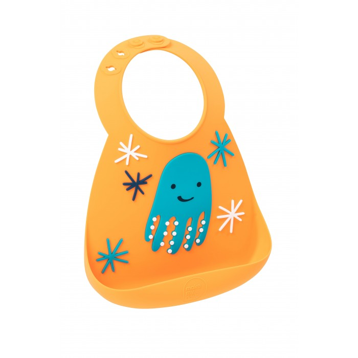 Нагрудник Make my day Baby Bib Octopus