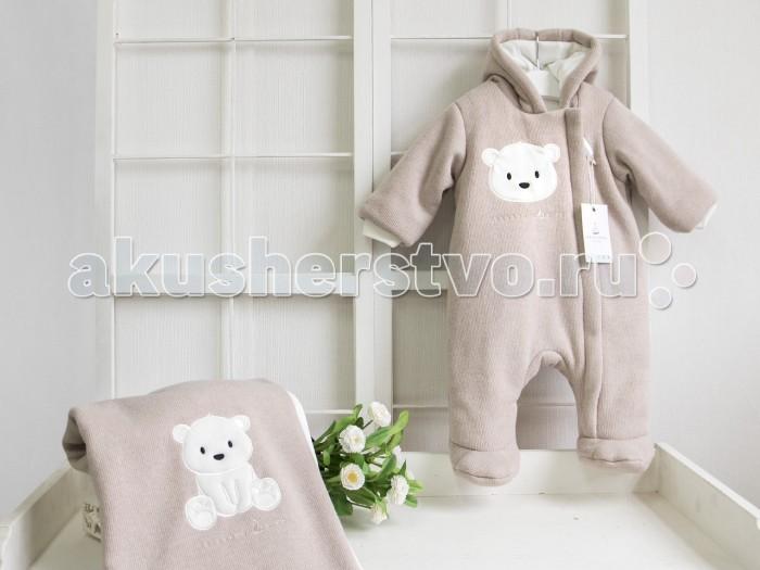Детская одежда , Демисезонные комбинезоны и комплекты Makkaroni Kids Комбинезон Полярный мишка арт: 395849 -  Демисезонные комбинезоны и комплекты