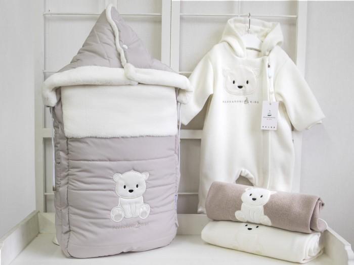 Детская одежда , Конверты на выписку Makkaroni Kids Конверт на выписку Полярный мишка (плащевка) арт: 395774 -  Конверты на выписку