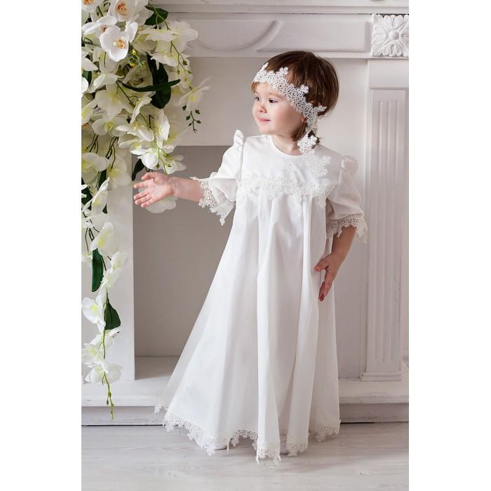 Крестильная одежда Makkaroni Kids Крестильный набор для девочки Варвара, Крестильная одежда - артикул:455561