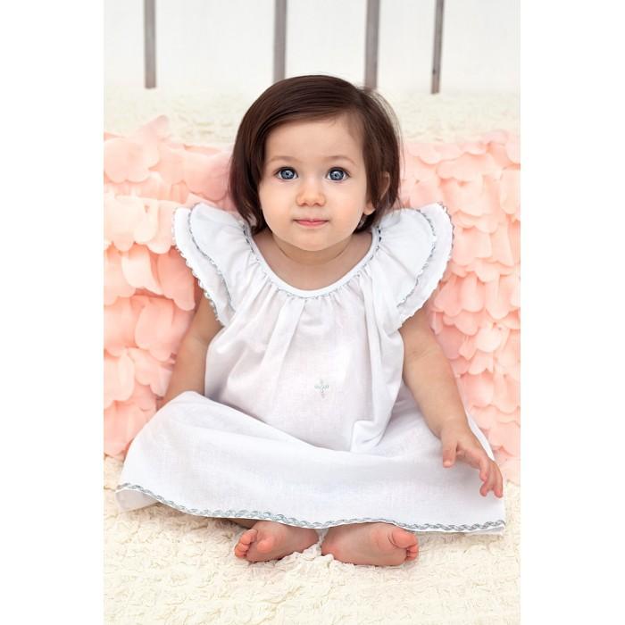 крестильный набор choupette для девочки Крестильная одежда Makkaroni Kids Крестильный набор Пелагея для девочки