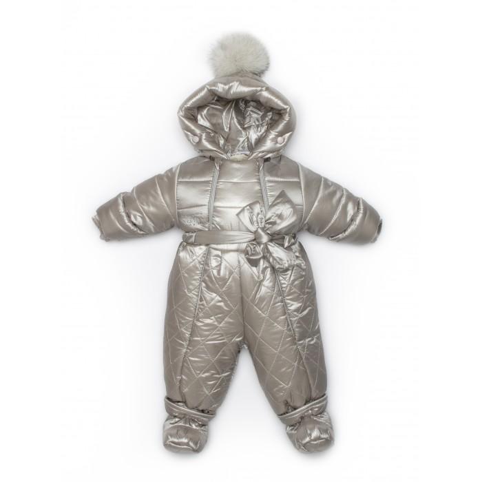 Купить Комбинезоны и полукомбинезоны, Malek Baby Комбинезон-конверт трансформер с помпоном 161шм/1