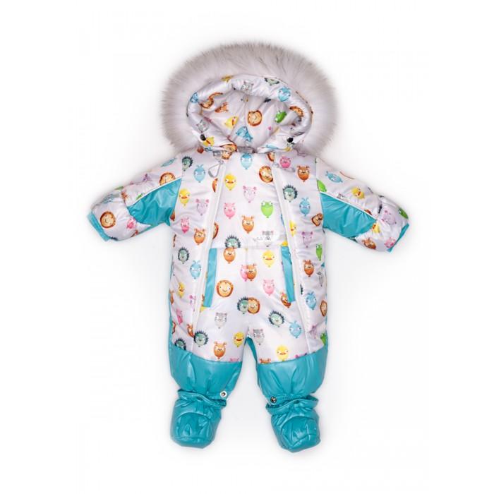 Malek Baby Комбинезон-трансформер Шарики-зверушки 145шм/2 фото