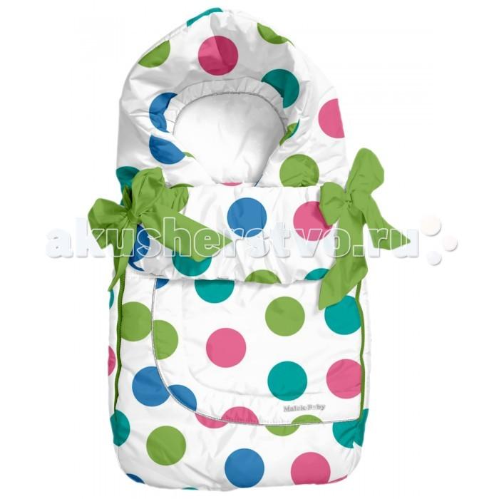Зимний конверт Malek Baby 308ш308шТеплый зимний конверт Malek Baby для новорожденного. Подкладка из натуральной овечьей шерсти.   По бокам 2 застежки-молнии, что позволяет легко положить малыша, не создавая ему не удобства.  Конверт из овечьей шерсти - это лучшее, что можно придумать для вашего младенца.  Рекомендуемый температурный режим до -30 градусов. Овечья шерсть согреет малыша в зимнюю непогоду. Она обладает лечебными и успокаивающими свойствами, что благотворно влияет на самочувствие детей. Конверт Российского производства. Сертифицирован. Верх конверта - 100% полиэстер Наполнитель - синтепон 150 г. Подкладка - 50% овечья шерсть меринос, 50% полиэстер  Уход: Бережная стирка при 30 градусах.<br>
