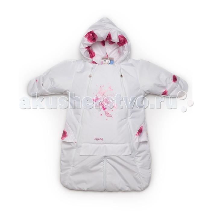 Malek Baby Конверт для новорожденного Розы 301тКонверт для новорожденного Розы 301тMalek Baby Конверт для новорожденного 301т  Конверт-трансформер, адаптирован для колясок-переносок, люлек. Наполнитель/утеплитель синтепон 100 г.<br>