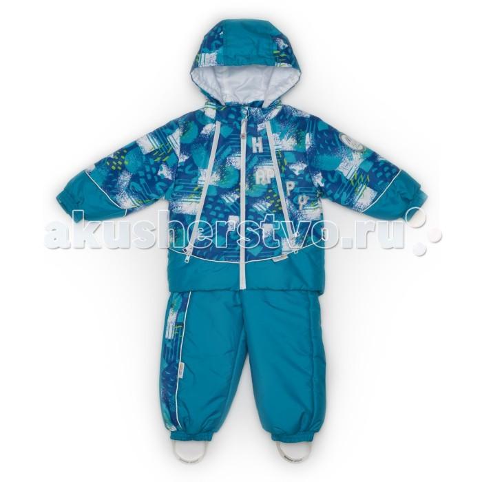 Утепленные комбинезоны и комплекты Malek Baby Куртка-полукомбинезон 483пм