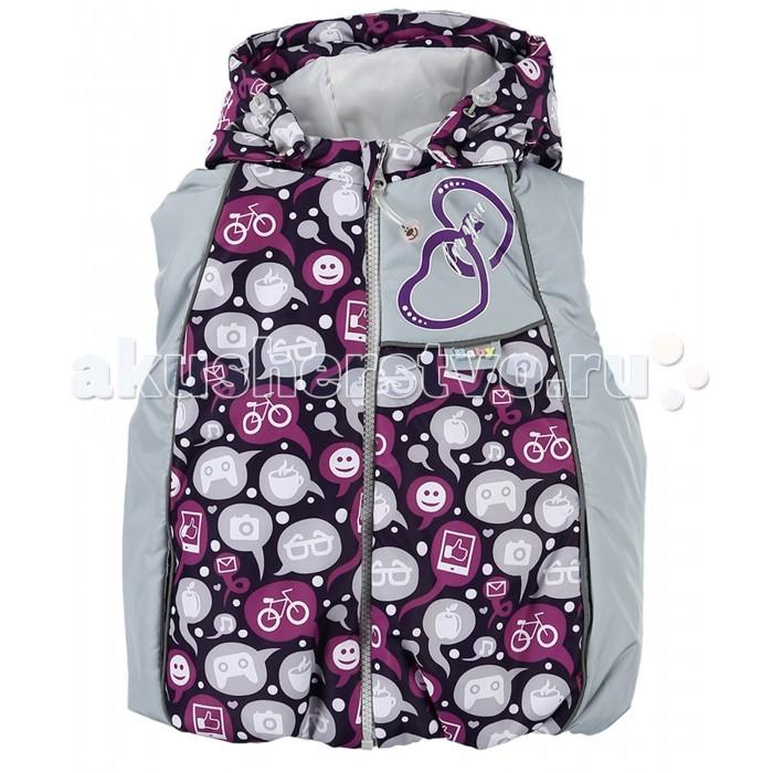 Детская одежда , Ветровки, плащи, дождевики и жилеты Malek Baby Жилетка 6101 арт: 282751 -  Ветровки, плащи, дождевики и жилеты