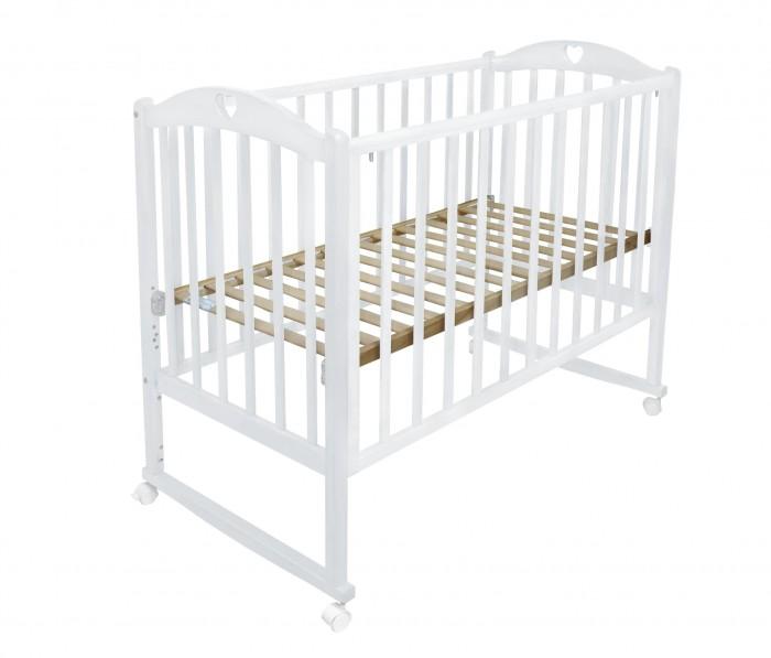 Детская кроватка Малика Laura-1 колесо качалка без ящика