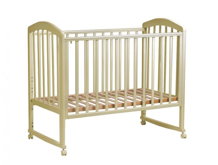 Детская кроватка Малика Sona-1 колесо качалка без ящика