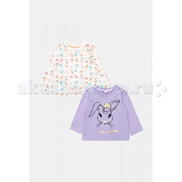 Детская одежда , Водолазки и лонгсливы Maloo Джемперы детские для девочек в наборе из 2 шт. Barta арт: 409294 -  Водолазки и лонгсливы