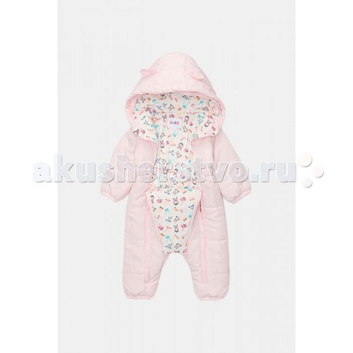 Детская одежда , Утепленные комбинезоны и комплекты Maloo Комбинезон (утепленный) детский для девочек Onusem арт: 410214 -  Утепленные комбинезоны и комплекты