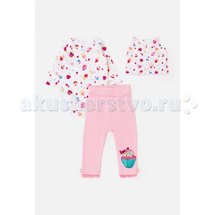 Детская одежда , Комплекты детской одежды Maloo Комплект детский (комбинезон, брюки, шапка) Vaporeon арт: 410309 -  Комплекты детской одежды