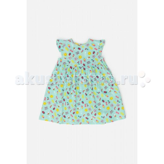 Детские платья и сарафаны Maloo Платье для девочки Margo с рисунком
