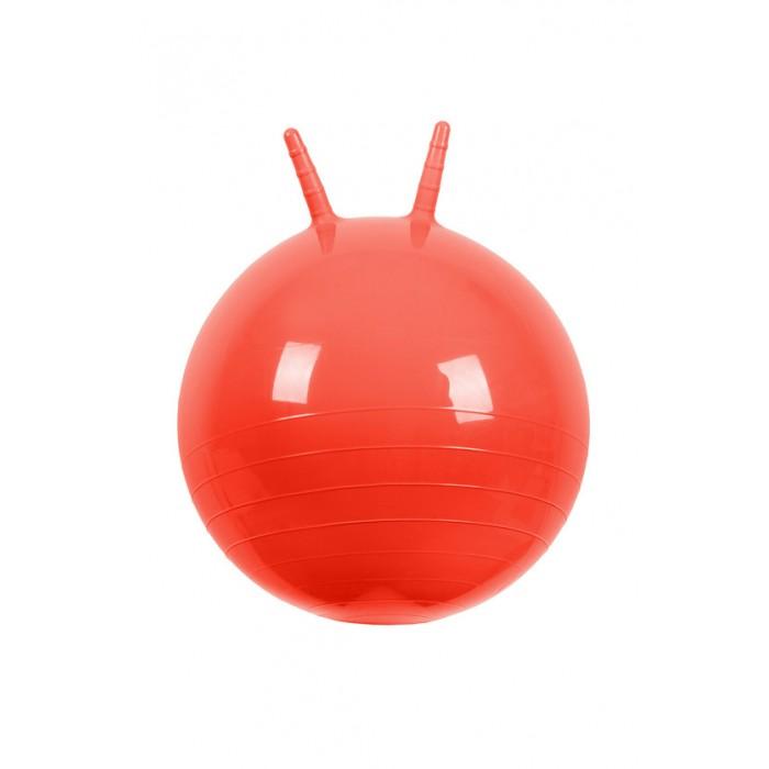 Мячики и прыгуны МалышОК Мяч прыгун с рожками 50 см мяч прыгун лошадка беж в чехле в пак в кор 15шт