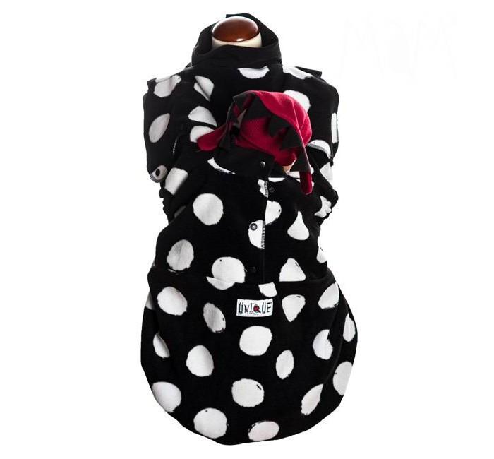 MaM Design Флисовая слинговставка-накидка Snuggle Снежки фото