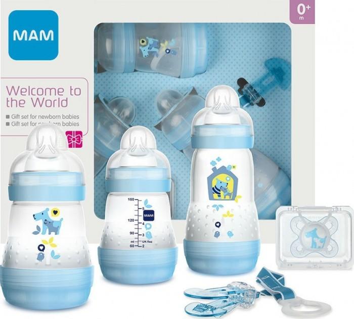 Посуда MAM Подарочный набор для новорожденных Welcome to the world Giftset 62860010/1 с 0 мес.