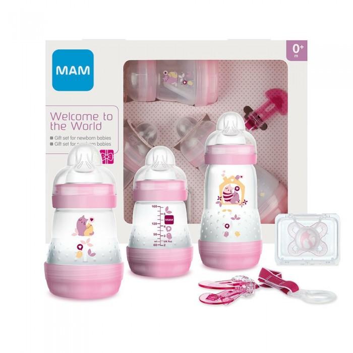 Посуда MAM Подарочный набор для новорожденных Welcome to the world Giftset 62860010/2 с 0 мес.
