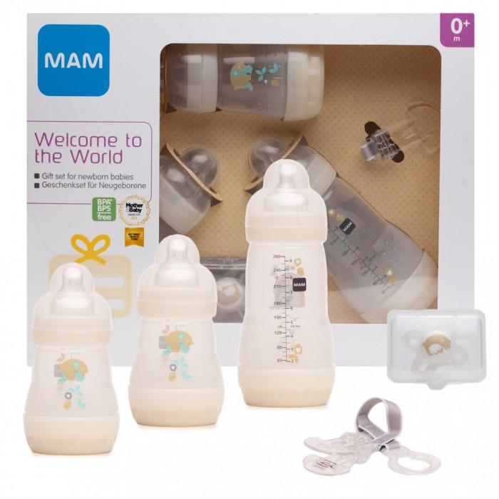 Посуда MAM Подарочный набор для новорожденных Welcome to the world Giftset 62860010/3 с 0 мес.