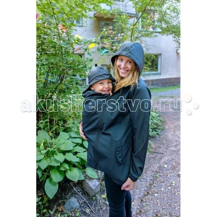 Товары для мамы , Слингокуртки MAM Демисезонная слингокуртка с шапочкой для малыша All-Weather Jacket арт: 327949 -  Слингокуртки