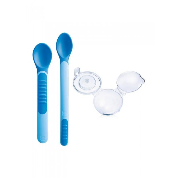 MAM Набор ложек Feeding Spoons&Cover 6+