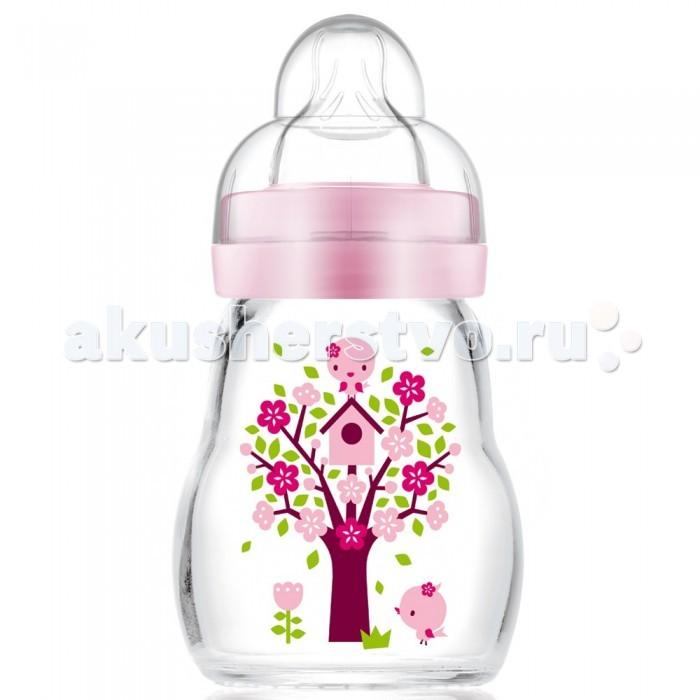 Бутылочки MAM Feel Good Bottle стекло 170 мл бутылочки для кормления mam бутылочка для кормления mam anti colic 160 мл