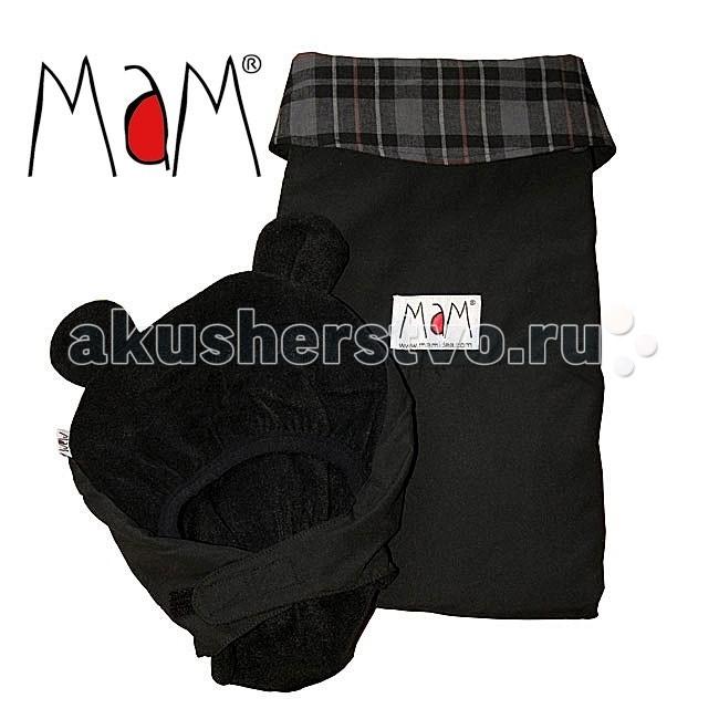 Товары для мамы , Аксессуары для сумок-кенгуру MaM Design Всесезонная накидка для слингоношения с шапочкой для малыша 4-Season Deluxe Cover арт: 68016 -  Аксессуары для сумок-кенгуру
