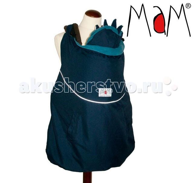 Товары для мамы , Аксессуары для сумок-кенгуру MaM Design Зимняя накидка для слингоношения с шапочкой для малыша Winter Cover арт: 68014 -  Аксессуары для сумок-кенгуру