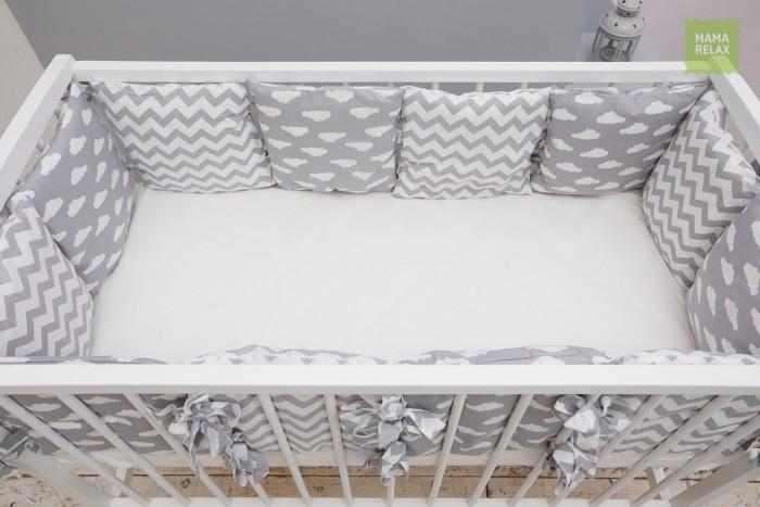 Купить Бортики в кроватку, Бортик в кроватку Mama Relax Зефир (12 подушек)