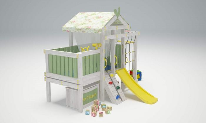 Игровые комплексы Савушка Baby 3 Детский игровой комплекс стенка горка в минске рио 3 недорого