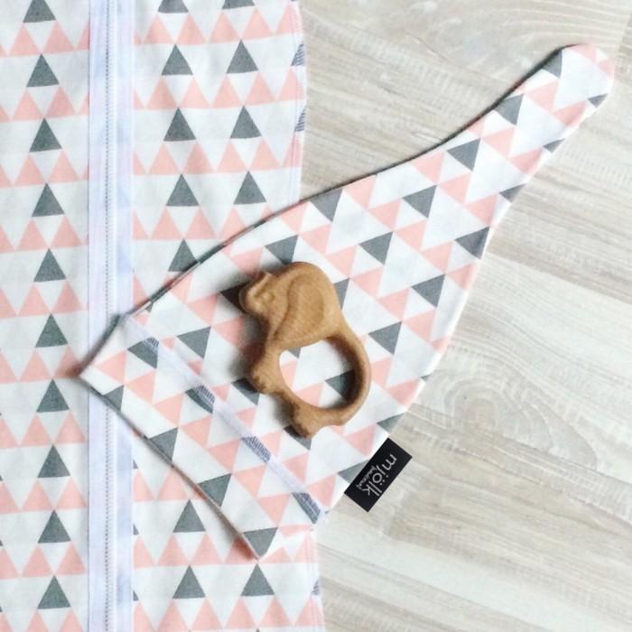 Шапочки и чепчики MamaPapa Шапочка Треугольники для девочки
