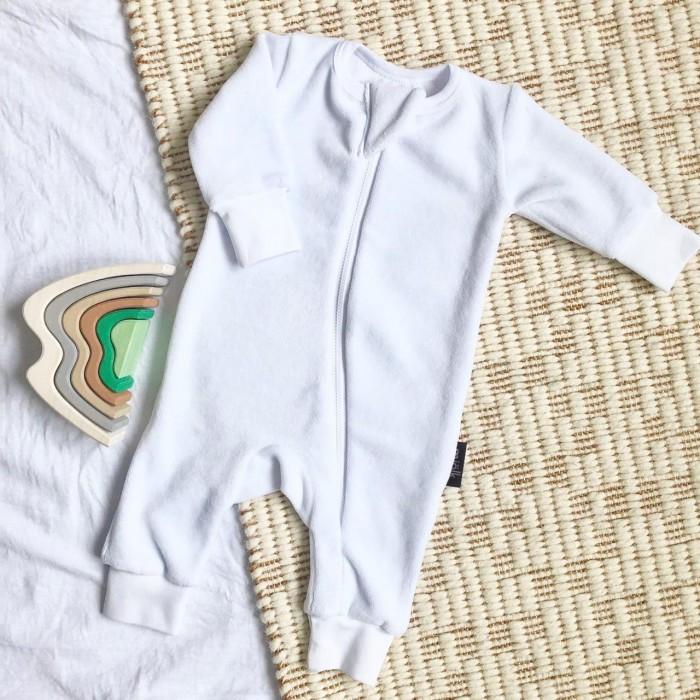 MamaPapa Утеплённый комбинезон Sleep and Play (открытая ножка)