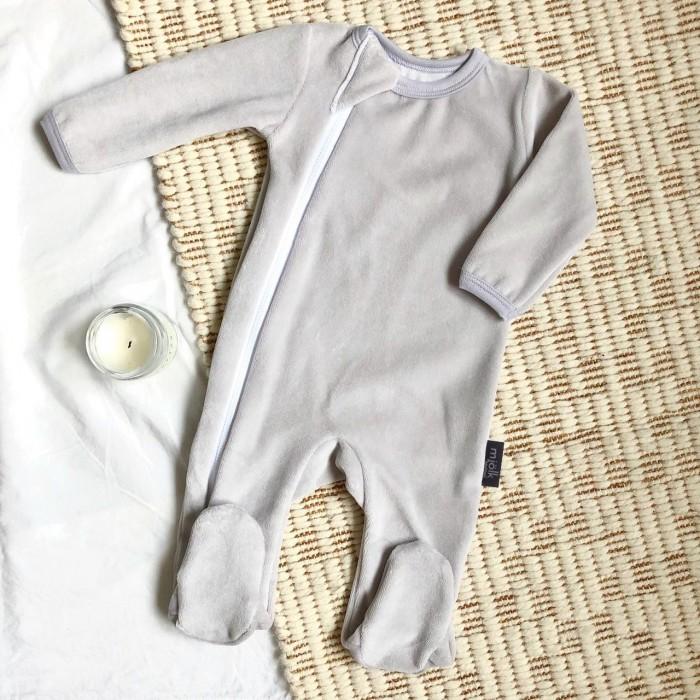 MamaPapa Утеплённый комбинезон Sleep and Play (закрытая ножка)