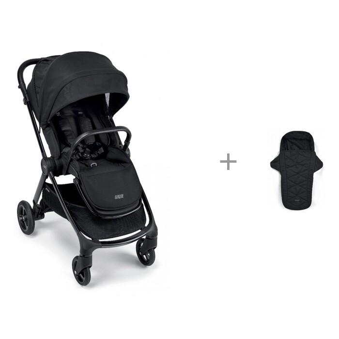 Коляски 2 в 1 Mamas&Papas Strada 2 в 1 (черная рама) и Спальный мешок Strada