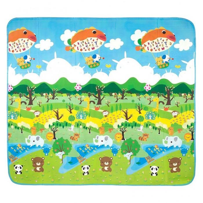 Игровые коврики Mambobaby Лесной парк игровые коврики mambobaby коврик пазл семейный дом 180х120х2