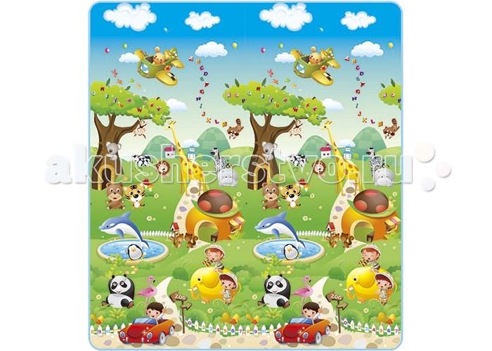 Игровые коврики Mambobaby Прогулка по Зоопарку игровые коврики funkids алфавит 1 kb 007r nt