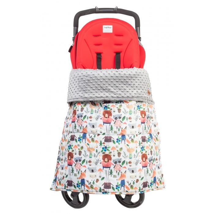 Mammie Накидка на ножки ЗверятаАксессуары для колясок<br>Mammie Накидка на ножки Зверята для комфортных прогулок  с ребенком весной и летом двустороннее одеяло – накидку  в коляску, которое пригодится каждой маме в ежедневной заботе о малыше.   Им можно укрыть ребенка в коляске, автокресле, а  также использовать как коврик для пикника и отдыха.  Одеяло - накидка Mammie изготовлено из безопасных, не вызывающих аллергию, материалов.  Эксклюзивный принт от дизайнера детской одежды KARINA KINO несомненно  обрадует модных мам. Лицевая сторона -  плащевая ткань, которая защитит ребенка от ветра, дождя, влажной травы, с другой, нежный плюшевый мех вельбоа.                                                                                         Утеплитель Alpolux, который подарит мягкость и уют во время использования одеяла-накидки Mammie. Грязезащитная вставка в районе ножек защитит от грязной обуви в мокрую погоду.                                                                                       Чтобы одеяло - накидка Mammie не соскальзывало ,предусмотрены кнопки для крепления к раме коляски. Размер: 73х96 см