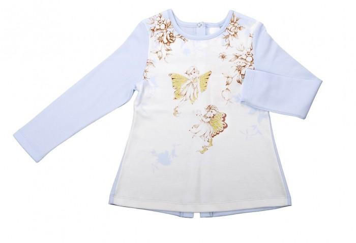Блузки и рубашки Мамуляндия Блуза для девочки Нежная 17-0401