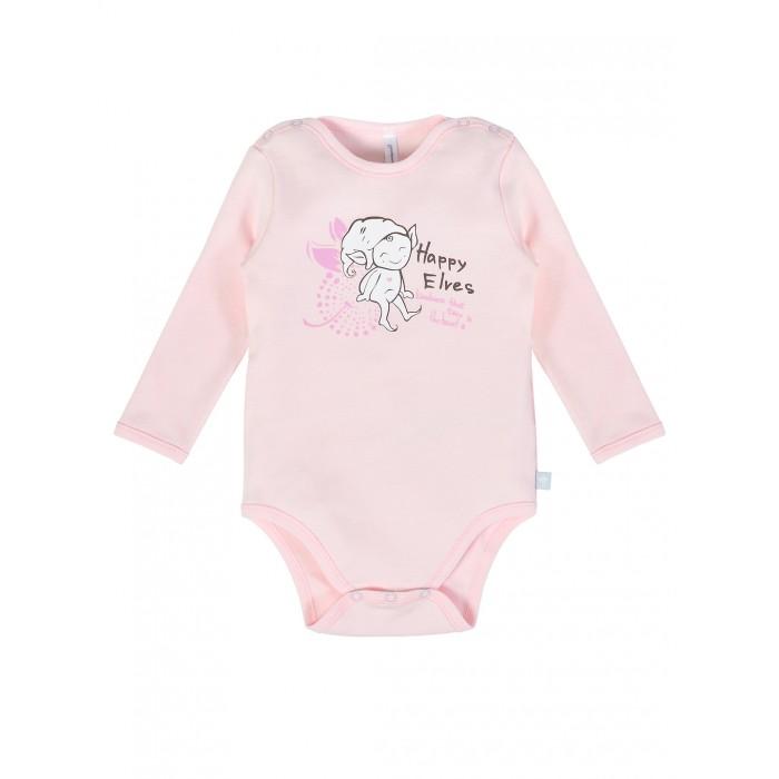 куртка для девочки мамуляндия сказочный сон цвет белый розовый 17 1905 размер 86 Боди, песочники, комбинезоны Мамуляндия Боди для девочки Эльфы 20-401