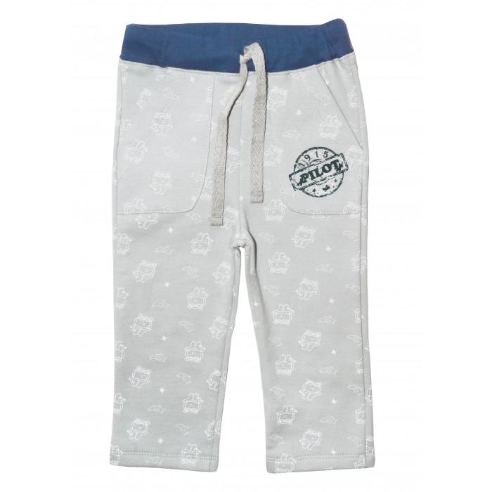 Брюки, джинсы и штанишки Мамуляндия Брюки для мальчика Пилоты 17-2504