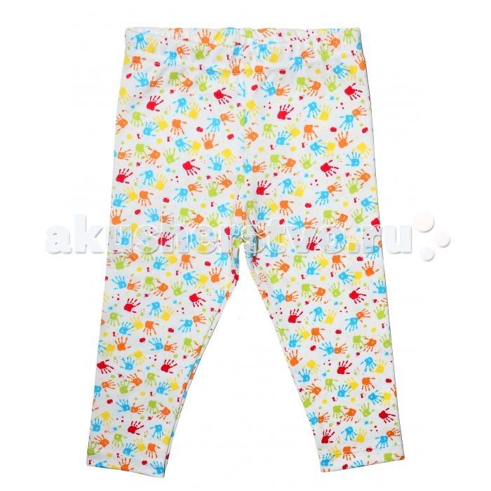 Брюки, джинсы и штанишки Мамуляндия Брюки Slim для девочки Клякса