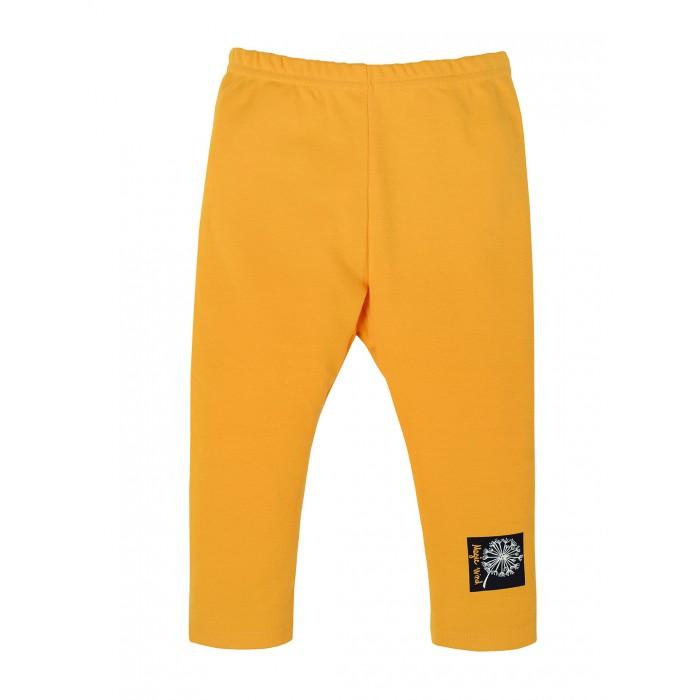 Брюки и джинсы Мамуляндия Брюки-slim для девочки Одуванчики брюки для девочки мамуляндия прогулка по облакам цвет розовый 17 1412 размер 86