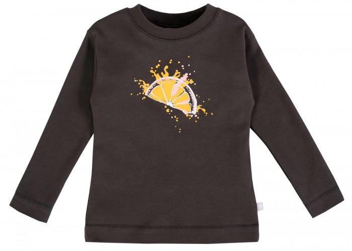 Картинка для Водолазки и лонгсливы Мамуляндия Джемпер для девочки Апельсинка 21-201-1