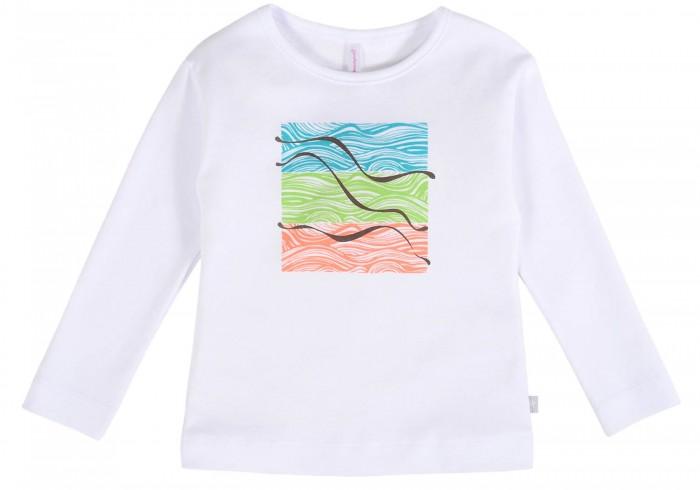 Картинка для Водолазки и лонгсливы Мамуляндия Джемпер для девочки Волны 21-201-2