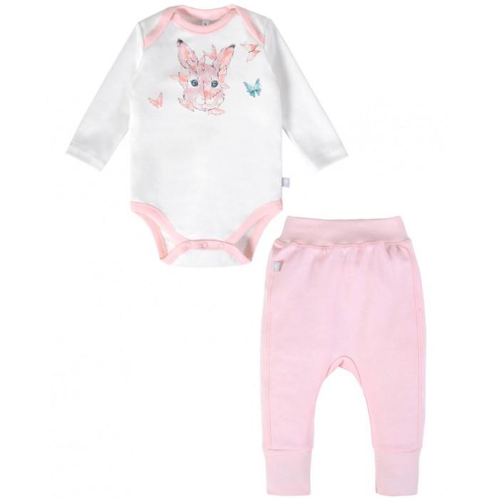 Комплекты детской одежды Мамуляндия Комплект для девочки Зайка 20-10004